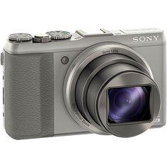 Câmera Digital 3D Sony Cyber-Shot DSC-HX50 20.4MP com 30x Zoom Óptico e Wi-Fi + Cartão 8GB