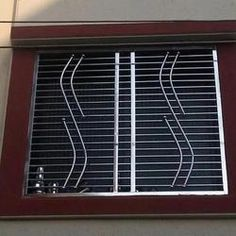 Shree Om Engineering offering SS Window Grill, Ss Window Grill in Pune, Maharashtra. Get best price and read about company and get contact details and address. Window Grill Design Modern, Balcony Grill Design, Grill Door Design, Window Design, Home Door Design, Door Gate Design, Main Door Design, House Design, Steel Grill Design