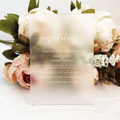 Wedding Invitations With Photos . Wedding Invitations With Photos Perspex Wedding Invitation Design Eleven Notonthehighstreet Acrylic Wedding Invitations, Botanical Wedding Invitations, Wedding Stationery, Shine Wedding Invitations, Wedding Invitation Design, Invitation Wording, Invites, Invitation Cards, Wedding Cards