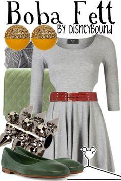 Star Wars - Female Boba Fett weekend attire