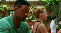 margot-robbie-will-smith-focus-.png (624×339) Margo robbie hair braid in movie Focus