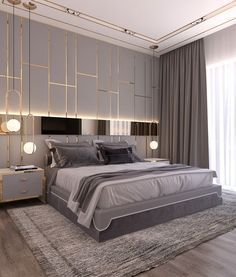 Modern Style Bedroom parts can add a touch of favor and design to any home. Modern Style Bedroom can mean many issues to many individuals, however all of them… Simple Bedroom Design, Modern Master Bedroom, Modern Bedroom Decor, Master Bedroom Design, Cozy Bedroom, Contemporary Bedroom, Bedroom Sets, Bed Design, Master Suite