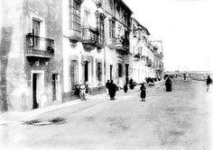 Una desconocida calle Betis, año 1900.