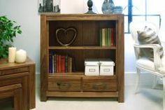 Mayan Walnut An exclusive range to add a traditional feel to any room. Its beautiful finishes and shades give natural look to your decor. For more info visit http://solidwoodfurniture.co/product-details-pine-furnitures-2985-mayan-walnut-low-bookcase.html