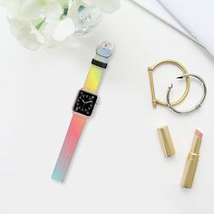 My Design - Saffiano Leather Watch Band Leather Watch Bands, Apple Watch Bands, Tech Accessories, Casetify, My Design, Tropical, Watches, Personalized Items, Leather Wristbands