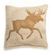 Found it at Wayfair - Lava Moose Etching Throw Pillow