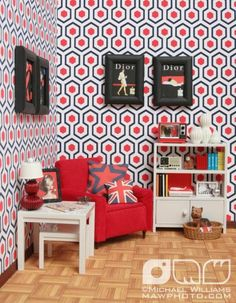 If It's Hip, It's Here: Michael Loves Jonathan Adler And They Both Love Barbie.