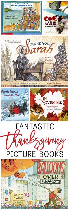 11 Fantastic Thanksgiving Picture Books - Everyday Reading