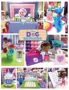 Doc McStuffins 1st Birthday Party Ideas by www.dreammakersparty.com | Doc McStuffins Birthday Party Ideas | Doc McStuffins Party | Doc McStuffins |