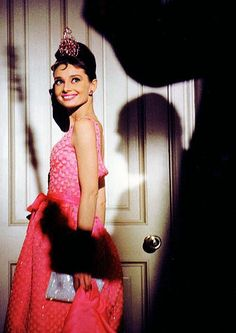 .Audrey channeling Barbie