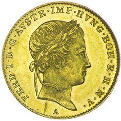 Ferdinand I. 1835 - 1848 Dukat 1844 A Gold