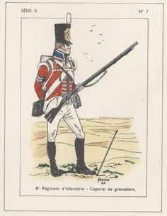 British; 8th Regiment of Foot, Grenadier Company, Corporal, Egypt, 1801