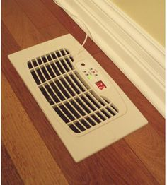 Don't leave heated or cooled air sitting in your ducts. A Register vent booster fan blows the air into your room, making it more comfortable. Great for rooms with fluctuating temperatures