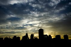 Johannesburg Skyline --- Visit http://whitejuncture.blogspot.com to see the other cool photos