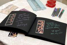 56 Ideas for diy wedding guest book ideas scrapbook Love Scrapbook, Photo Album Scrapbooking, Scrapbook Journal, Wedding Scrapbook, Scrapbook Albums, Bff Birthday Gift, Wedding Guest Looks, Wedding Guest Book Alternatives, Diy Gifts For Boyfriend