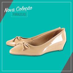 Confortáveis e sofisticados: os nossos scarpins anabelados são perfeitos para um dia a dia corrido! •Seja prática! Compre Online: www.paralelas.com.br  #vidascomestilo #modaporprecojusto #paralelas #scarpin #nude #shoes #moda #estilo