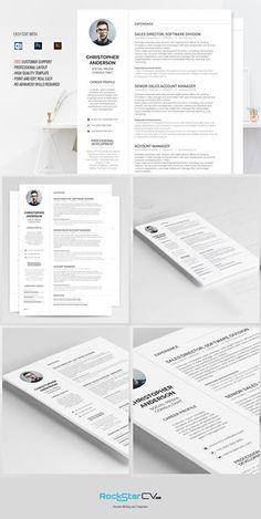 traditional resume template http rockstarcv com product