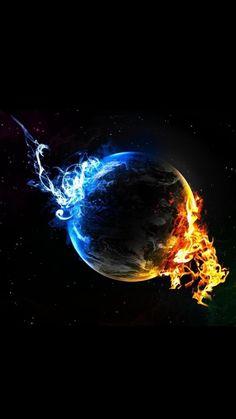 Smokin' earth!