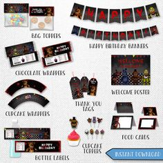 Five Nights at Freddy's bundle Five Nights by InstantBrightParty