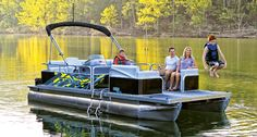 Lowe 2020 SS Series Super Sport Pontoons are the hottest & most versatile combination of party, watersport, fishing, and cruising boats on the water! Lowe Boats, Pontoon Boats For Sale, Fishing Boats For Sale, Deck Boats For Sale, Aluminum Jon Boats, Lake Camping, Super Sport, Family Adventure, Lowes
