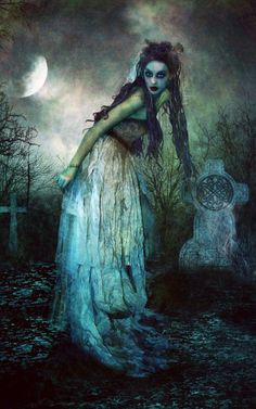 """Kalma ~ """"Smell of the Corpse."""" The Finno-Ugric goddess of death and the dead. Her house was guarded by Surma, a monstrous animal with ever-open jaws, who would seize and devour human beings at her order. Dark Fantasy, Fantasy Art, Goddess Of The Underworld, Corpse Bride, Wow Art, Gothic Art, Gothic Horror, Halloween Art, Halloween Costumes"""