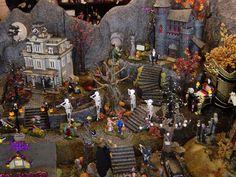 halloween village displays   Hot Wire Foam Factory - Halloween Village Display