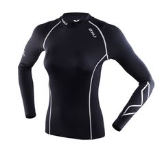 2XU Women Compression Tights T- Shirt Womens Running Gym Fitness Sports Workout  #Unbranded #ShirtsTops