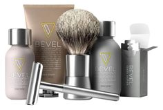 Includes a razor with an extra blade, a beard brush, shave gel, shave oil, and aftershave.Price: $71.99