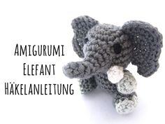 Der Elefant, Rüsselakrobat, sprichtwörtliches Supergedächtnis und Besitzer der größten (Segel-)Ohren im Tierreich. Diesen liebenswerten Dickhäuter mit stark ausgeprägten Familiensinn können Sie nun selber häkeln. Den Amigurumi Elefant häkeln Sie mit nur wenigen Maschenarten und eignet sich daher für Anfänger wie auch Fortgeschrittene gleichermaßen, wenn das Vernähen von Häkelteilen sitzt.