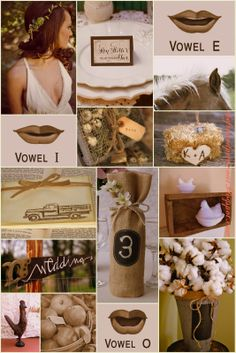 DIY COUNTRY WEDDING / LOTS OF CREATIVE IDEAS From:: The Frosted Petticoat: Old McDonald had a wedding