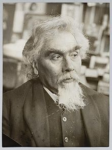 Johannes Theodorus 'Jan' Toorop[1] (Dutch pronunciation: [joːˈɦɑnəs teːoːˈdoːrɵs jɑn ˈtoːrɔp]; 20 December 1858 – 3 March 1928) was a Dutch-Indonesian painter, who worked in various styles, including Symbolism, Art Nouveau, and Pointillism. His early work was influenced by the Amsterdam Impressionism movement.