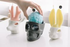 The Jacks is a line of candles that look like they're crying as they melt!