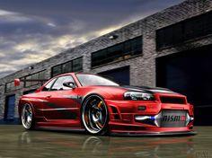 Wallpapers com consumar garanhão auto Nissan Skyline GTR Z sintonia