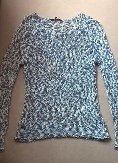 Kup mój przedmiot na #vintedpl http://www.vinted.pl/damska-odziez/swetry-z-dekoltem/13099295-wloczkowy-azurowy-sweter-r-38