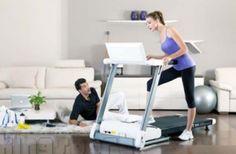 Sử dụng máy chạy bộ điện tại nhà mỗi ngày