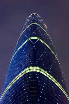 Guangzhou International Finance Centre, China, Asia, Wilkinson Eyre Architects #arquitectura #architecture