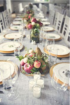 Beautiful Fruit Centerpieces