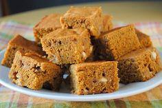 Őszi édesség fogyni vágyóknak: sütőtökös süti recept | Babafalva.hu Cake Bars, Banana Bread, Dairy Free, Gluten Free, Healthy Lifestyle, Paleo, Muffin, Food And Drink, Thanksgiving