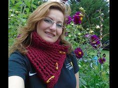 Cuello ~ Bufanda Crochet / Tutorial | Crochet y Dos agujas - Patrones de tejido