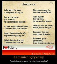 Humor Videos, Learn Polish, Alphabet Words, Polish Language, Tongue Twisters, Humor Grafico, Positive Mind, Science For Kids, Poland