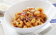 From parmigiana to saltimbocca, osso bucco to involtini, we have all the recipes needed for tender veal. Stroganoff Recipe, Beef Stroganoff, Cheese Tortellini Recipes, Macaroni And Cheese, Large Fries, Beef Steak, Dinner Recipes, Veal Recipes
