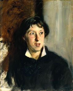 """Portrait of Vernon Lee 1881  Vernon Lee (a pseudonym for Violet Paget) was described by Henry James as """"the most able mind in Florence."""" A childhood friend of Sargent's, Lee preferred an androgynous appearance and name """"partly to further her career,"""" says Herdrich. """"She had ambition."""" She also apparently had ambivalence about the nature of pictures themselves, writing to her publisher """"I hate the hawking about of people's faces."""""""