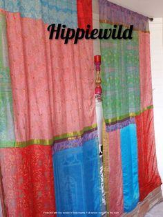 Boho Curtains by Hippiewild Bohemian Curtains, Bohemian Decor, Canopy Bed Curtains, Patchwork Curtains, Burlap Garland, Hanging Photos, Christmas Pillow, Hanging Wall Art, Backdrops