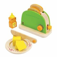Wooden toaster for the girls kitchen.