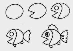 Easy Way How to Draw Sketches of Animal figures Step by Step for Kids ~ Creativehozz About Home Decorating Design, Entertainment, Kids, Creative Ideas, Crafts