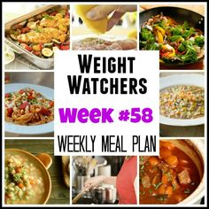 Weight Watchers Weekly Meal Plan #61 – Now with SmartPoints! - Simple Nourished Living