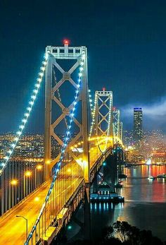 City Lights At Night, Night City, City Wallpaper, Nature Wallpaper, San Francisco At Night, New York Life, World Cities, Life Pictures, City Photography