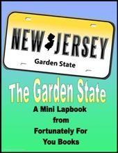 Mini State Lapbooks-New Jersey - Fortunately For You Books |  | Mini LapbooksCurrClick