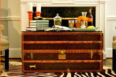 Bluebonnets For Sal: Vintage Suitcases