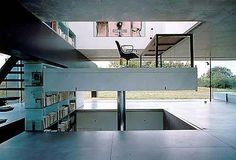The movable floor of the House in Bordeaux, France, by Rem Koolhaas, built in 1998